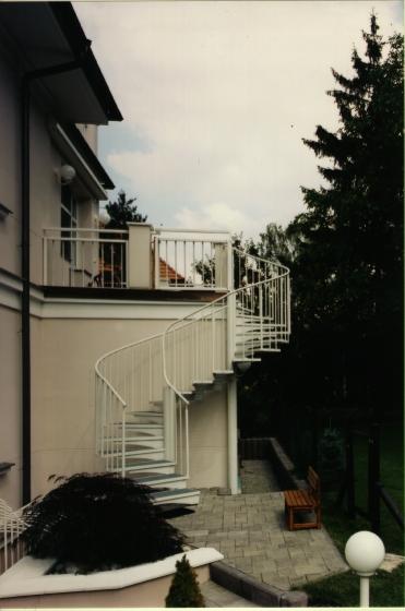 exteriérová schodiště