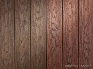NATURE PLUS Vytříbená jemně žíhaná prkna NATURE PLUS s reliéfem dřeva jsou dokonalou imitací přírodního materiálu. Barvy: latte, cedar, teak, merbau, palisander, grey, inox. Rozměry: 137 x 23 x 4000 mm. Hmotnost: 3,5 kg/bm. Cena: 1331 Kč vč. DPH/ 4 m prkno.