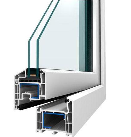 Plastové okno Efekt s 5komorovým systémem