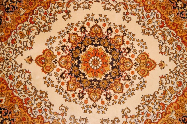 pattern wool carpet colored paint