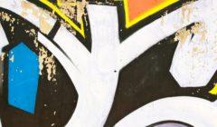 12415463 - colofrul graffiti detail
