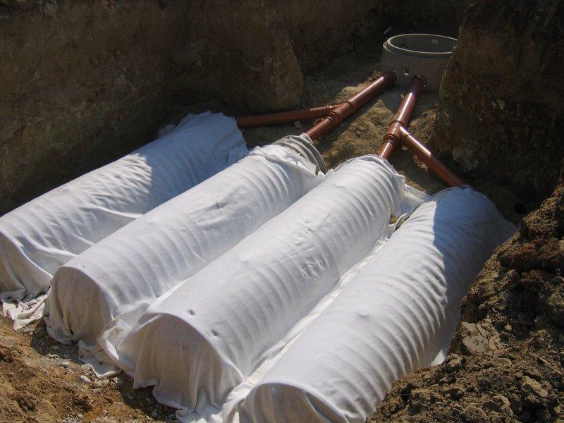 Systémy pro akumulaci a zasakování dešťových (srážkových) vod