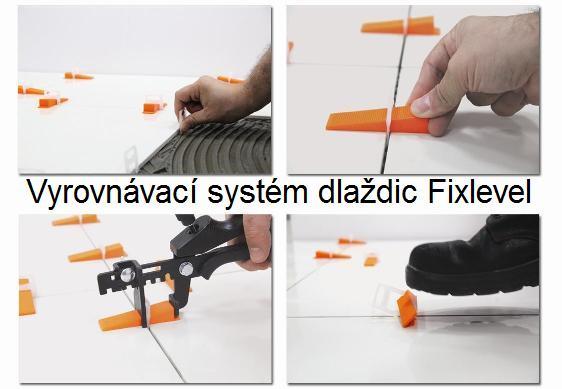 Vyrovnávací systém dlaždic Fixlevel