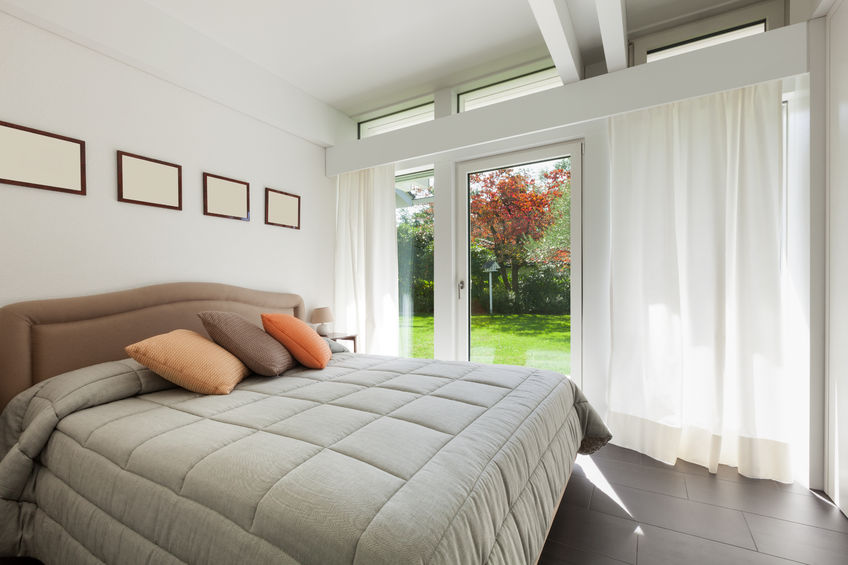 49781245 - architecture, comfortable bedroom of a modern house